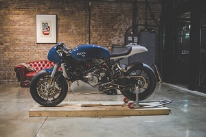 deBolex Ducati launch at the Bike Shed